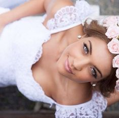 Gorgeous bridal makeup Natural makeup  soft pink lips
