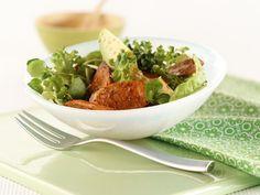 Cajun Sausage & Sesame Salad