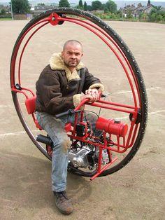 Redmax monowheel