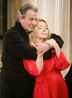 Nikki and Victor's love has only grown stronger with time! #YR #Love