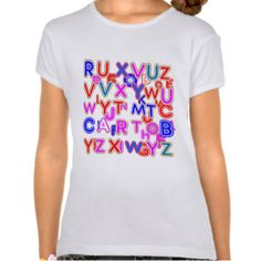 ALPHABET SOUP : QUIZ SHIRTS