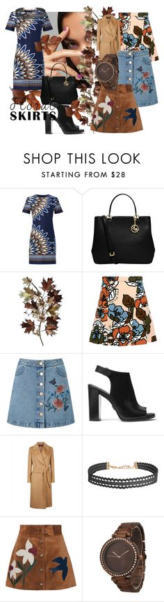 """""""Floral Skirts For All Occasions"""" by jjantiques ❤ liked on Polyvore featuring Tory Burch, MICHAEL Michael Kors, C. Jeré, Paul & Joe Sister, Miss Selfridge, Michael Kors, Jaeger, Humble Chic, RED Valentino and Olivia Pratt"""