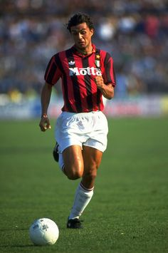 Paolo Maldini: AC Milan and Champions League legend. And actually really good at standing on one leg.