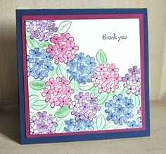 Stampin' Up ideas and supplies from Vicky at Crafting Clare's Paper Moments: Mail-friendly Monday - using Sweet Summer Homemade Greeting Cards, Homemade Cards, Cute Cards, Diy Cards, Stamping Up, Flower Cards, Creative Cards, Stampin Up Cards, Cool Things To Make