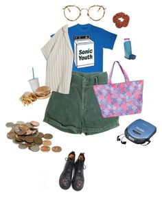 """can I wash my clothes with 5 cents"" by paigealexandrialee on Polyvore featuring Lilly Pulitzer, MASSCOB and Eyevan 7285"