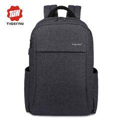 Backpack Bat with Anti-thief USB Charging   Furrple