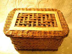 "═► http://pletenie-iz-gazet.net We present a master class Elena Tishchenko ""How to twist the tube's from newspapers"". Handmade newspaper basket - is wonderfu..."