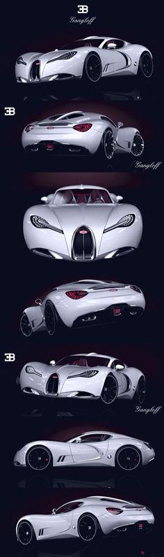 #Bugatti Gangloff #Concept -100% #badass!