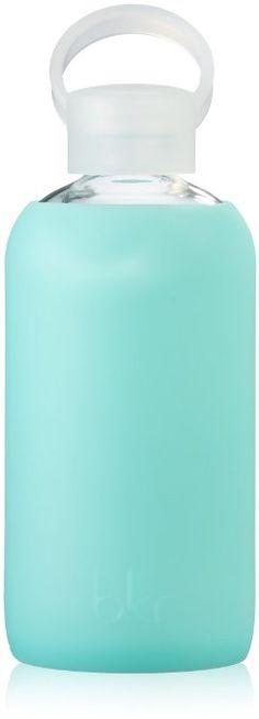Amazon.com: bkr® bottle : bubbly glass water bottle + soft silicone sleeve - 500ml: Kitchen & Dining
