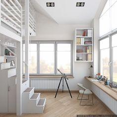 Este proyecto nos hará soñar. Se trata de un diseñorealizado por el estudio de interiores de San Petersburgo, Zukkini, el mismo que realizó tan ...