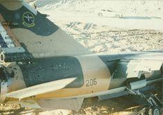 SAAF Mirage shot up over Angola but crash landed back in Namibia.
