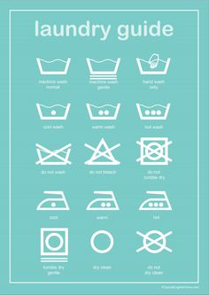 A Typical English Home: Laundry Guide Printable - print out and frame in laundry room Basement Laundry, Laundry Closet, Laundry Rooms, Laundry Shop, Laundry Decor, Small Laundry, Home Organization Hacks, Laundry Room Organization, Household Organization