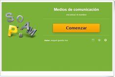 SOPA DE LETRAS SOBRE MEDIOS DE COMUNICACIÓN (Actividad interactiva de Primaria)