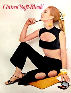 Clairol 'Soft-Blush' Ad, detail 1966