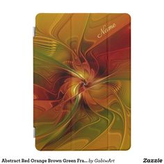 Abstract Red Orange Brown Green Fractal Art Flower iPhone Plus Wallet Case - autumn gifts templates diy customize Iphone 8, Iphone Wallet Case, Iphone Case Covers, Ipad Covers, Fractal Art, Fractals, Acrylic Awards, Green Pictures, Flower Graphic