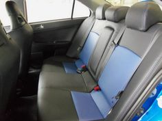 A view from the back seat.just as clean as the front! Back Seat, Car Seats