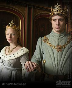 The White Queen: Elizabeth and Edward