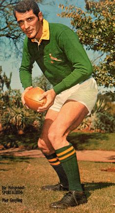 Piet Greyling - The McLook rugby collection