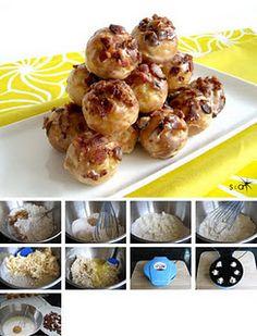 Maple Bacon Donut Holes recipe.