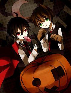 Halloween Anime boys
