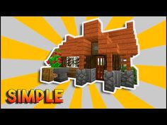Minecraft: Simple, Easy, Efficient Survival House Tutorial | How To Make A Small Survival House - YouTube