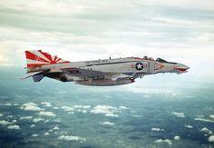 "US Navy F-4B ""Phantom II"", VF-111 'Sundowners'  (USS 'Coral Sea')."