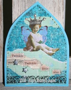 Turquoise Gothic Arch by Sugar Lump Studios, via Flickr