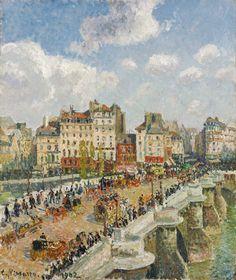 Camille Pissarro: The Pont-Neuf, 1902