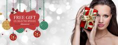 Free gift for Christmas banner