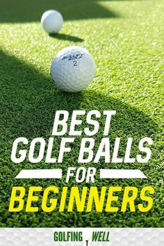 Golf Swing Drills Looking to start playing golf but not sure what to buy? You will need golf balls, so check out our picks for best golf balls for beginners. Golf Terms, Fantasy Golf, Golf Betting, Golf Putting Tips, Golf Chipping, Golf Instruction, Golf Exercises, Golf Tips For Beginners, Golf Training