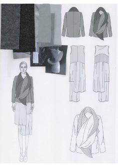 Di_M_Pic__Fashion Sketchbook - fashion design development; Fashion Illustration Sketches, Fashion Sketchbook, Fashion Sketches, Fashion Flats, Fashion Art, Fashion 2017, Fashion Design Drawings, Fashion Portfolio, Fashion Project