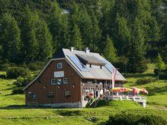 Tierischer Urlaub mit Hund auf der Tauplitzalm, im Ausseerland in der Steiermark (c) Grazerhütte