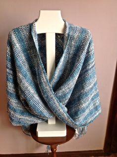 INFINITY PONCHO Hand Woven In Ecuador by StellaWeaves on Etsy