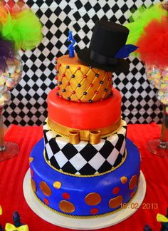 """When I say """"birthday"""", do you think """"cake""""? You'll love these awesome themed birthday cakes for boys! Circus Carnival Party, Circus Theme Party, Carnival Birthday Parties, Themed Birthday Cakes, Circus Birthday, Themed Cakes, Birthday Blast, Circus Wedding, Birthday Ideas"""