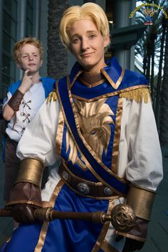 BlizzCon 2013 Child and Teenage Anduin Wrynn cosplay photo