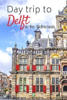 Delft is such a quaint and adorable little town in the Netherlands. As a day trip from Amsterdam, or from Rotterdam, it's simply perfect. Day Trips From Amsterdam, Amsterdam City, Amsterdam Travel, Amsterdam Weekend, European Destination, European Travel, Delft, Europe Travel Tips, Travel Destinations