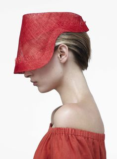 love this hat by alexander lewis from his resort 2013 collection