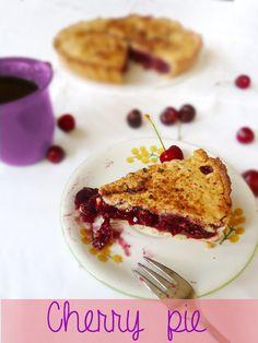 Cherry pie ( Torta di ciliegie americana)