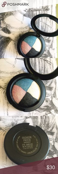 LE MAC Mineralize Eyeshadow - Fashion Patch New never used, from the limited edition collection. Made in Italy. MAC Cosmetics Makeup Eyeshadow
