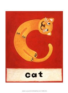 """C is for Cat"" by Chariklia Zarris"