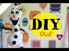 DIY: Olaf de Meião (Fácil e Rápido) - YouTube