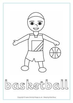 48 En Iyi Sports Spor Boyama Sayfaları Görüntüsü Fingers Clip