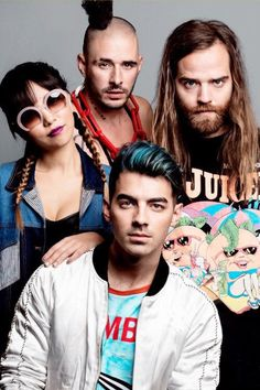 DNCE. I'm told this band is good. Must listen to their songs.