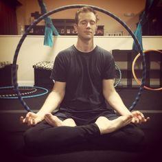 Hula hoop meditation