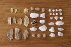 Cesta de Tesouros de elementos naturais | Treasure Basket: natural elements
