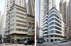 香港坚尼地城最佳水滨位置破败无电梯唐楼'同发大厦'变身豪华公寓---对香港的现代主义建筑致敬 http://www.gooood.hk/tung-fat-building-by-kpdo.htm