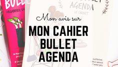 My agenda 2017 - 2018 : Bullet Journal et développement personnel - Happiness Maker Happy, Organization, Notebooks, Ser Feliz, Being Happy