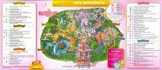 Plan des parcs Disneyland Paris + Programme | Hello Disneyland : Le meilleur guide en ligne pour Disneyland Paris