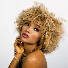 Natural Hairstyles For Short Hair Black Women Cute Natural Hairstyles, Short Hairstyles For Women, Cool Hairstyles, Blonde Hairstyles, Crochet Braids Hairstyles, Braided Hairstyles, Curly Hair Styles, Natural Hair Styles, Vogue