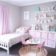 Bedroom design ideas for girls fantastic little girl bedroom decor fancy little girls bedroom ideas girl . bedroom design ideas for girls Teenage Girl Bedrooms, Teen Bedroom, Diy Bedroom, Girl Toddler Bedroom, Kids Bedroom Ideas For Girls Toddler, Modern Bedroom, Bedroom Vintage, Kids Girls, 4 Year Old Girl Bedroom